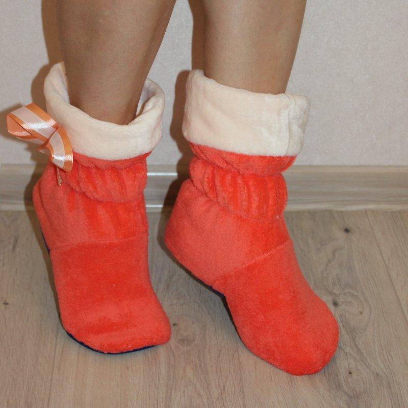 сапожки5(оранжевый