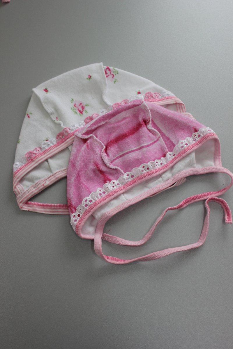 Чепчик махра. розовый